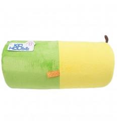 Rollo de estimulacion para bebé-Verde Amarillo