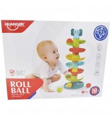 Juego de rodar pelotas para bebé