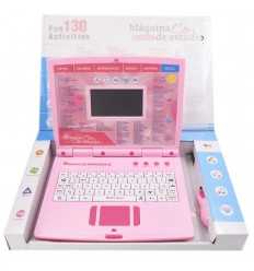 Maquina de estudio 130 actividades-Rosa