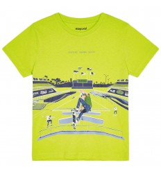 Camiseta algodón Ecofriends niño- Verde