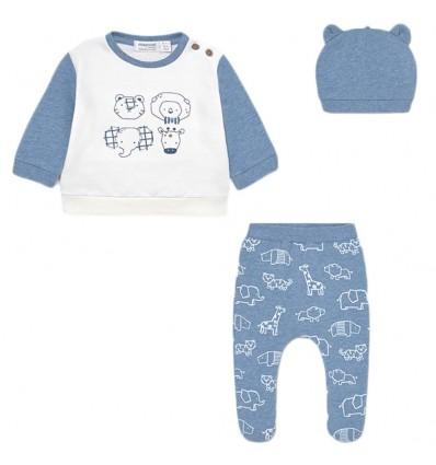 Conjunto 3 piezas para bebé niño - Azul