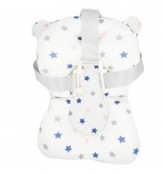 Espuma de seguridad para tina del bebé- Blanco