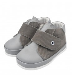 Zapato no tuerce para niño-Combinado Gris