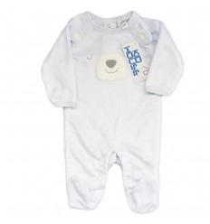 Pijama para bebé niño - Azul osito