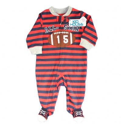 Pijama enteriza para bebé niño- Roja