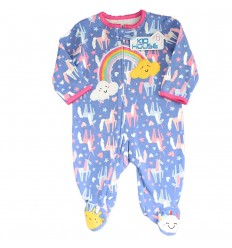 Pijama enteriza para bebé niña - Arcoiris