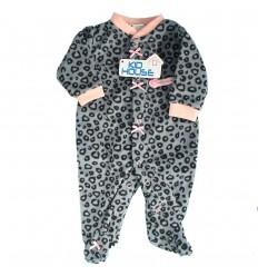 Pijama enteriza para bebé niña- Manchitas