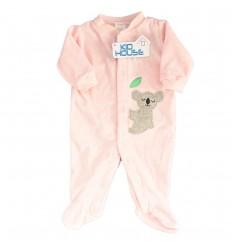 Pijama enteriza para bebé niña- Rosa Koala