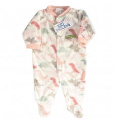Pijama enteriza para bebé niña- Dinosaurios