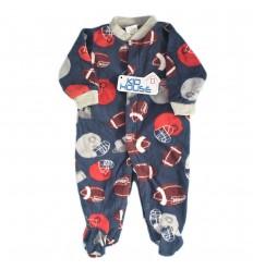 Pijama enteriza para bebé niño - Azul Balones