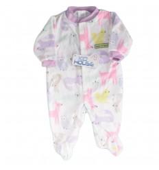 Pijama enteriza para bebé niña- Animalitos