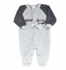 Pijama enteriza para bebé niño-Azul