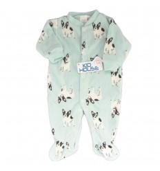 Pijama enteriza para bebé niño- perritos