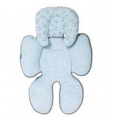Protector cabeza y espalda estampado- Azul