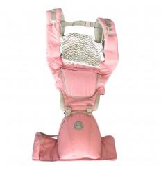 Cargador para bebé con base color rosado