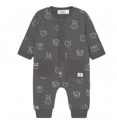 Pijama para bebé niño animalitos - Gris